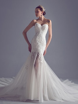 Ericdress Exquisite Sweetheart Mermaid Wedding Dress