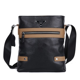 Ericdress Patent Leather Shoulder Bag For Men