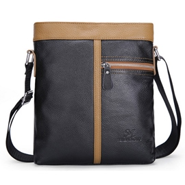 Ericdress Patchwork Men's Shoulder Bag