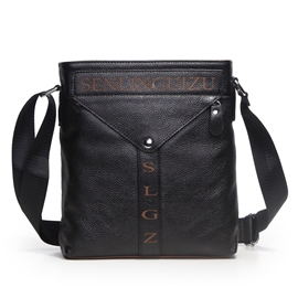 Ericdress Letter Print Shoulder Bag For Men