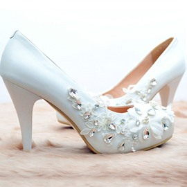 Ericdress Handmade Crystal Wedding Shoes