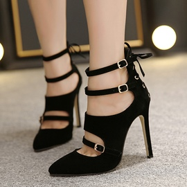 Ericdress Sexy Point Toe Prom Shoes with Buckles