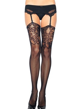 Ericdress Small Fish Net Jacquard Women Pantyhose