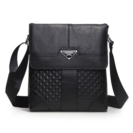 Ericdress Embossed Men's Shoulder Bag