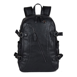 Ericdress Washable Leather Men's Backpack