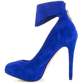 Ericdress Suede Point Toe Pumps