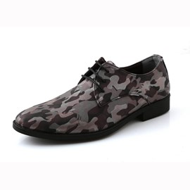 Ericdress Camouflage Point Toe Men's Shoes