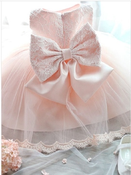 Ericdress Beautiful Lace Flower Girl Party Dress
