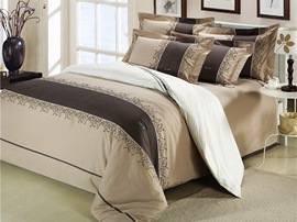 Ericdress Magnificent 4-Piece Cotton Bedding Sets