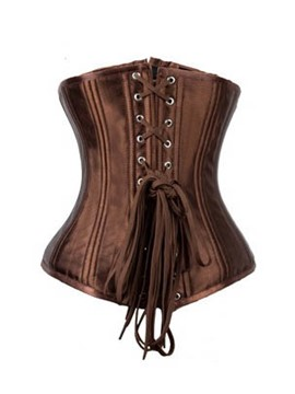Ericdress Lace-Up Under Bust Waist Training Corset