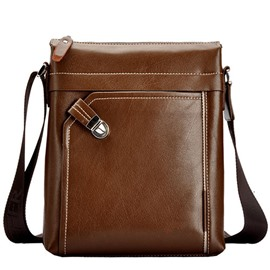 Ericdress Solid Color Shoulder Bag For Men