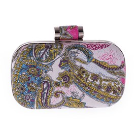 Ericdress Exotic Floral Decorated Clutch