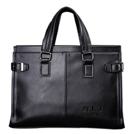Ericdress Solid Color Men's Briefcase