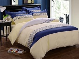 Ericdress Vogue Rhythm 4-Piece Cotton Bedding Sets