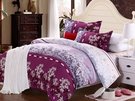 Ericdress Rhine Riverside Floral Cotton Bedding Sets