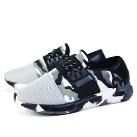 Ericdress Mesh Camouflage Men's Sneakers