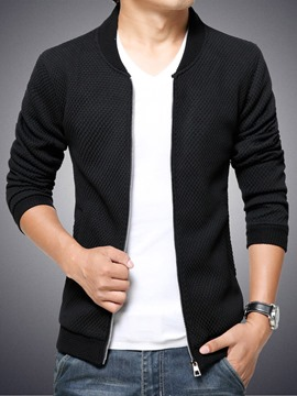 Ericdress Zip Thin Slim Men's Jacket