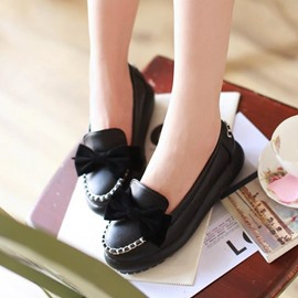 Ericdress Lovely Bowtie Flats