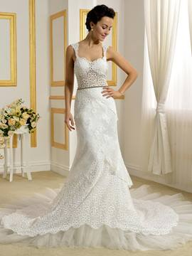 Ericdress Sexy Lace Mermaid Wedding Dress