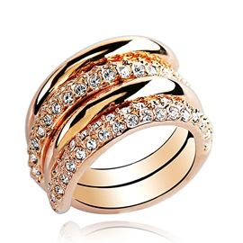 Ericdress Detachable Exaggerate Ring