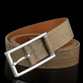 Ericdress All Match Plaid Pin Buckle Men's Belt