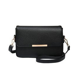 Ericdress Simple Solid Color Messenger Shoulder Bag