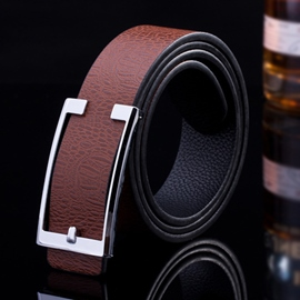 Ericdress Casual Embossed Men's Belt