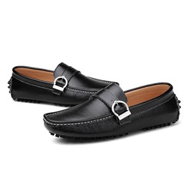 Ericdress Solid Color Antiskid Men's Moccasin-Gommino