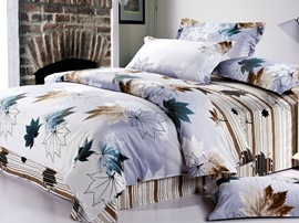 Ericdress Maple Love 4-Piece Cotton Bedding Sets