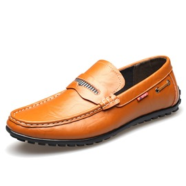 Ericdress Patent Leather Handmade Men's Casual Shoes