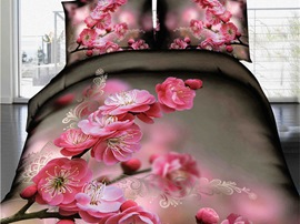 Ericdress Early Spring Plum Blossom 3D Bedding Sets