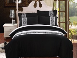 Ericdress Simple Lifestyle 4-Piece Cotton Bedding Sets