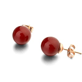 Ericdress All Match Pearl Stud Earrings