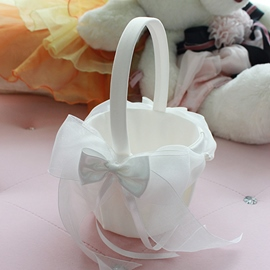 Ericdress Bowknot Flower Girl Basket