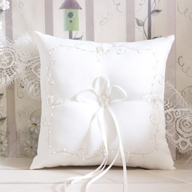 Ericdress Beautiful Beading Ring Pillow