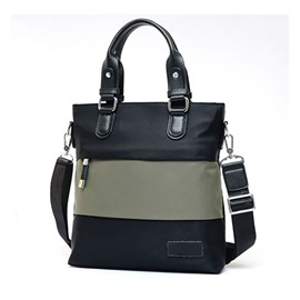 Ericdress Color Block Stripe Men's Handbag