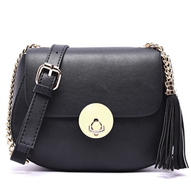 Ericdress Cool Chain Tassel Decorated Shoulder Bag