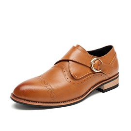Ericdress Solid Color Men's Brogues