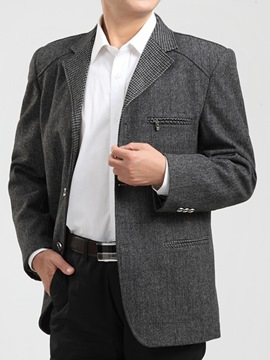 Ericdress Three Buttons Top Quality Men's Blazer