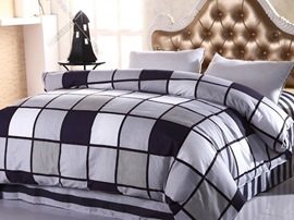 Ericdress Checked Cotton Bedding Sets