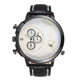 Ericdress Vogue Double Scale Men's Watch