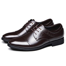 Ericdress Popular Office Lace up Men's Oxfords