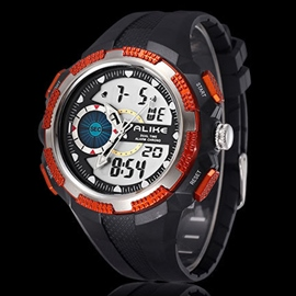 Ericdress Vogue Multifunction LED Men's Watch