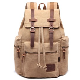 Ericdress Canvas Computer Backpack For Men