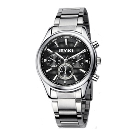 Ericdress Elegant Steel Belt Chronograph Watch