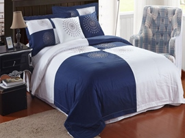 Ericdress Simple Plaid Cotton Bedding Sets