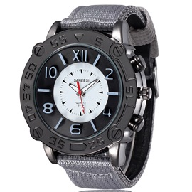 Ericdress Outdoor Canvas Belt Men's Quartz Watch