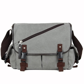 Ericdress Casual Men's Canvas Shoulder Bag