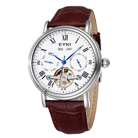Ericdress Hollow Bilingual Men's Mechanical Watch