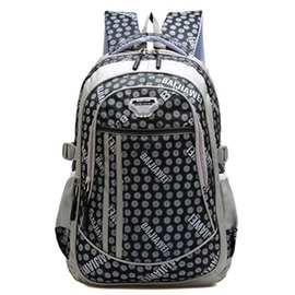 Ericdress Polka Dot Decorated Travel Backpack